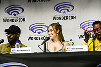 Alycia Debnam-Carey at Wondercon in Anaheim Ca. March 31, 2019
