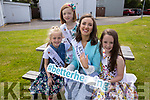 Kerry Rose Buds Aoife Hobbert, Ayla Keogh and Sophie Constable with the Kerry Rose Sally Ann Leahy