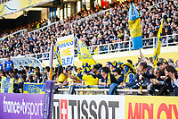Fans ASM during the European Challenge Cup match between Clermont Ferrand and Northampton Saints at Stade Marcel Michelin on March 31, 2019 in Clermont-Ferrand, France. (Photo by Romain Biard/Icon Sport)