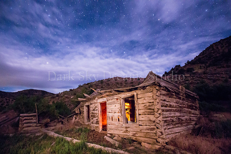 Abandoned Homestead at Harper Ghost Town