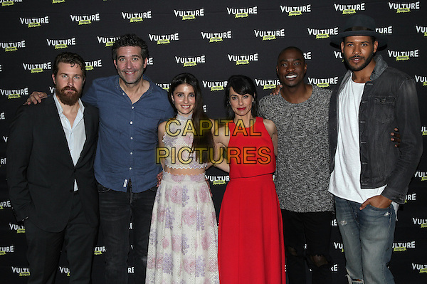 NEW YORK, NY - MAY 22: Josh Kelly, Craig Bierko, Shiri Appleby, Constance Zimmer, B. J. Britt and Jeffrey Bowyer-Chapman attend Unreal: After The Final Elimination at Vulture Festival at MILK Studios on May 22, 2016 in New York City. <br /> CAP/MPI/DIE<br /> &copy;DIE/MPI/Capital Pictures