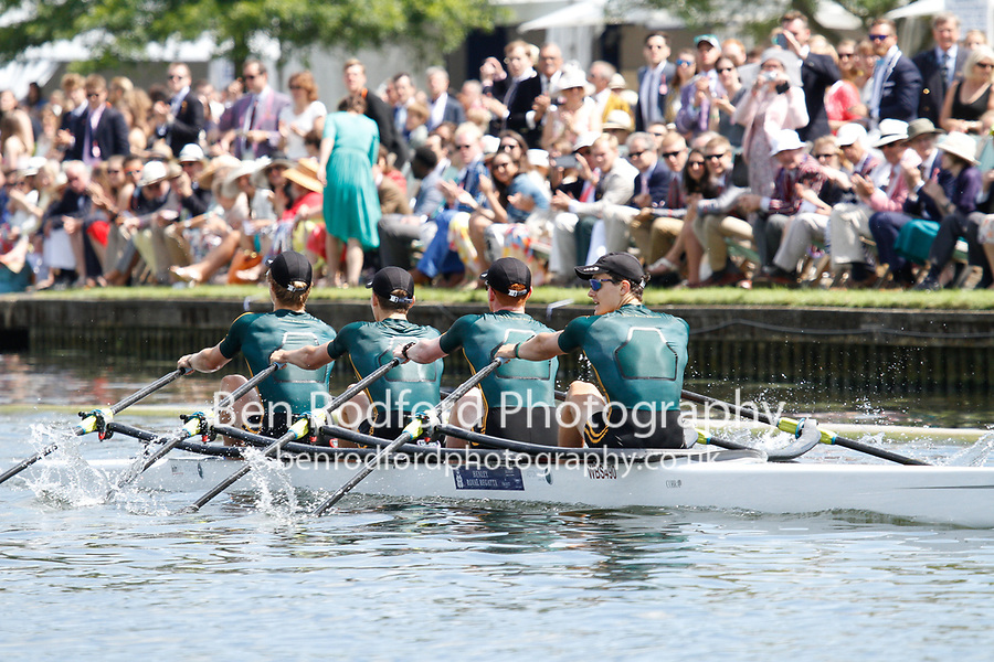 Race: 2 - Event: FAWLEY - Berks: 381 THE WINDSOR BOYS' SCHOOL - Bucks: 334 CLAIRES COURT SCHOOL<br /> <br /> Henley Royal Regatta 2017<br /> <br /> To purchase this photo, or to see pricing information for Prints and Downloads, click the blue 'Add to Cart' button at the top-right of the page.
