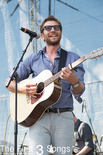 Brett Eldredge performs onstage during the ACM Party For A Cause Festival at Globe Life Park on April 18, 2015 in Arlington, Texas.