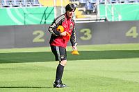 Bundestrainer Joachim Loew stellt Huetchen auf fuer das Training<br /> WM-Team des DFB trainiert in der Commerzbank Arena *** Local Caption *** Foto ist honorarpflichtig! zzgl. gesetzl. MwSt. Auf Anfrage in hoeherer Qualitaet/Aufloesung. Belegexemplar an: Marc Schueler, Alte Weinstrasse 1, 61352 Bad Homburg, Tel. +49 (0) 151 11 65 49 88, www.gameday-mediaservices.de. Email: marc.schueler@gameday-mediaservices.de, Bankverbindung: Volksbank Bergstrasse, Kto.: 151297, BLZ: 50960101