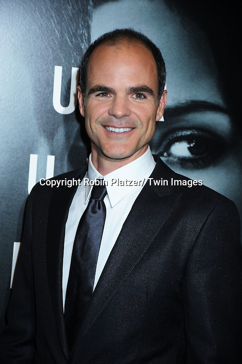 "actor Michael Kelly attending The World Premiere of "" The Adjustment Bureau"" on February 14, 2011.at The Ziegfeld Theatre in New York City..Matt Damon and Emily Blunt are the stars of the movie"