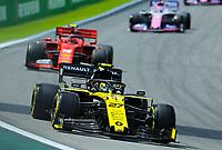 17th November 2019; Autodromo Jose Carlos Pace, Sao Paulo, Brazil; Formula One Brazil Grand Prix, Race Day; Nico Hulkenberg (GER) Renault Sport F1 Team RS19 - Editorial Use