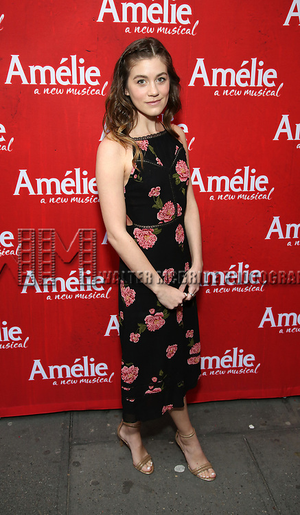 Laura Dreyfuss  attends the Broadway Opening Night performance of 'Amelie' at the Walter Kerr Theatre on April 3, 2017 in New York City