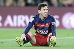 FC Barcelona's Leo Messi during La Liga match. April 2,2016. (ALTERPHOTOS/Acero)