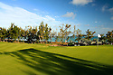 11th green, Le Touessrok Golf Course, Trou d'eau Douce, Mauritius. Designed by Bernhard Langer. Picture Credit/ Phil Inglis
