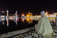 Asia,India,Punjab, Amristar, Golden temple,Palki Sahib where is the Sikh holy book,