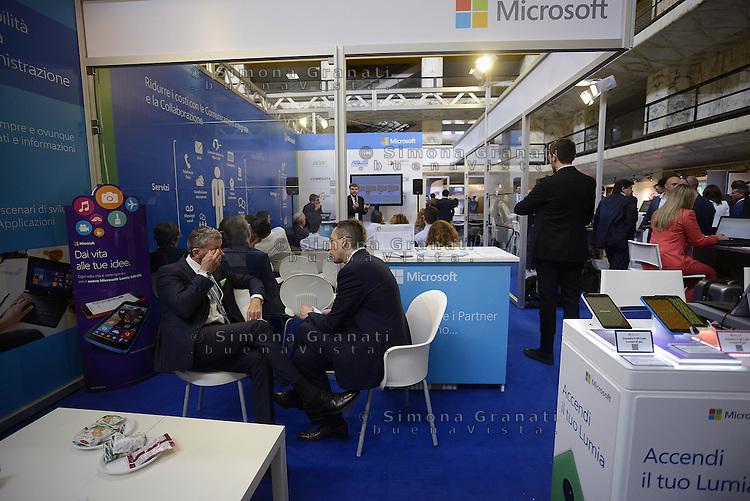 Roma, 27 Maggio 2015<br /> Forum Pa 2015<br /> Il padiglione Microsoft<br /> 26&deg; mostra convegno dell'innovazione nella Pubblica amministrazione e nei sistemi territoriali.