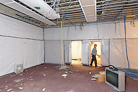 Central High School Bridgeport CT Expansion & Renovate as New. State of CT Project # 015-0174. One of 80 Photographs of Progress Submission 13, 01 March 2016. Library Selective Demolition, Main Level.