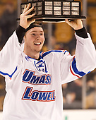Chris Forney (UML - 4) The University of Massachusetts-Lowell River Hawks defeated the Boston College Eagles 4-3 to win the 2017 Hockey East tournament at TD Garden on Saturday, March 18, 2017, in Boston, Massachusetts.
