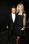 Zang Toi and Alex McCord Backstage at Zang Toi Spring 2014 Fashion Show Held During Mercedes Benz Fashion Week NY