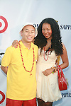 Kevin Leong and Rajiah Williams Attend Russell Simmons' 12th Annual Art for Life East Hampton Benefit, NY D7/30/11