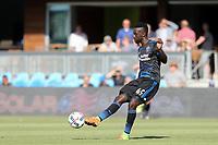San Jose, CA - Saturday July 29, 2017: Simon Dawkins during a Major League Soccer (MLS) match between the San Jose Earthquakes and Colorado Rapids at Avaya Stadium.