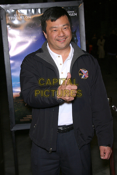 "LEROY CHIAO.""The Astronaut Farmer"" World Premiere - Arrivals held at the Cinerama Dome, Hollywood, California , USA, .20 February 2007..half length thumb up.CAP/ADM/ZL.©Zach Lipp/AdMedia/Capital Pictures."