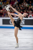 23rd March 2018, Milan, Italy; ISU World Figure Skating Championships  Milano 2018; the womens winner Kaetlyn Osmond (CAN)