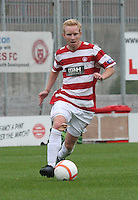 Ali Crawford in the Hamilton Academical v Motherwell friendly match played at New Douglas Park, Hamilton on 24.7.12..