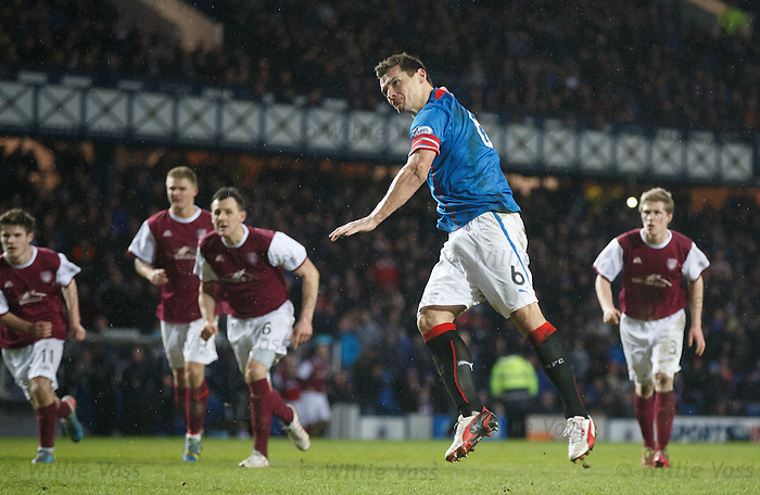 Lee McCulloch scores from the penalty spot