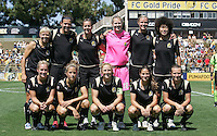 FC Gold Pride Starting Eleven. FC Gold Pride defeated Washington Freedom 3-2 at Buck Shaw Stadium in Santa Clara, California on August 1, 2009.