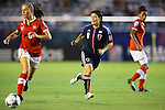 Hikaru Naomoto (JPN), .AUGUST 26, 2012 - Football / Soccer : .FIFA U-20 Women's World Cup Japan 2012, Group A .match between Japan 4-0 Switzerland .at National Stadium, Tokyo, Japan. .(Photo by Daiju Kitamura/AFLO SPORT)