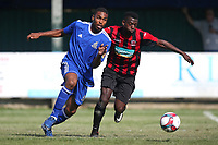Asher Modeste of Redbridge during Redbridge vs Saffron Walden Town, Essex Senior League Football at Oakside Stadium on 4th August 2018