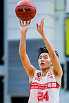 Tsang Cham Yuen #24 of Nam Ching Basketball Team concentrates prior to a free throw during the Hong Kong Basketball League game between Nam Ching vs Winling at Southorn Stadium on May 11, 2018 in Hong Kong. Photo by Yu Chun Christopher Wong / Power Sport Images