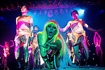 "© Joel Goodman - 07973 332324 . 26/06/2013 . Manchester , UK . Nicki Minaj spoof as part of the show . The Ladyboys of Bangkok perform their show , "" Glamorous Amorous "" at the Sabai Pavilion , in Manchester , as part of their 2013 UK tour . Photo credit : Joel Goodman"