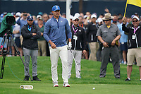Brooks Koepka (USA) on the 3rd tee during the 2nd round at the PGA Championship 2019, Beth Page Black, New York, USA. 18/05/2019.<br /> Picture Fran Caffrey / Golffile.ie<br /> <br /> All photo usage must carry mandatory copyright credit (&copy; Golffile | Fran Caffrey)