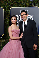 Emmy Rossum and Sam Esmail arrive at the 76th Annual Golden Globe Awards at the Beverly Hilton in Beverly Hills, CA on Sunday, January 6, 2019.<br /> *Editorial Use Only*<br /> CAP/PLF/HFPA<br /> Image supplied by Capital Pictures