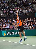 Rotterdam, The Netherlands. 16.02.2014.  Marin Cilic(KRO)  ABN AMRO World tennis Tournament of 2014<br /> Photo:Tennisimages/Henk Koster