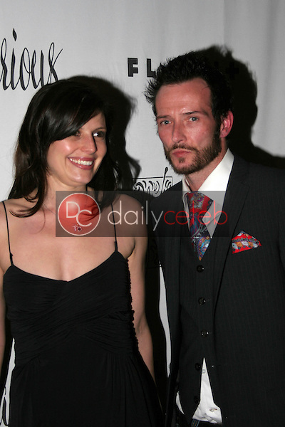 Scott Weiland and his wife Mary<br />