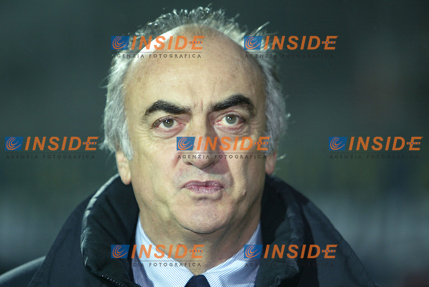 Modena 22/11/2003 <br /> Modena Juventus 0-2 <br /> Antonio Giraudo<br /> Foto Andrea Staccioli Insidefoto