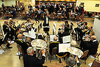 30th. Anniversary of the Miners' Strike<br /> End of Strike Social<br /> Florence Sports and Social Club<br /> Stoke on Trent<br /> Part of a season of events commemorating the 30th anniversary of the miners' strike of 1984 - 1985.<br /> Florence Colliery Brass Band