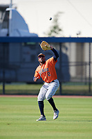 Houston Astros Ronnie Dawson (2) during practice before a Minor League Spring Training Intrasquad game on March 28, 2018 at FITTEAM Ballpark of the Palm Beaches in West Palm Beach, Florida.  (Mike Janes/Four Seam Images)