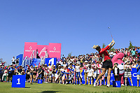 Charley Hull of Team England Women during day 2 of the GolfSixes played at The Centurion Club, St Albans, England. <br /> 06/05/2018.<br /> Picture: Golffile | Phil Inglis<br /> <br /> <br /> All photo usage must carry mandatory copyright credit (&copy; Golffile | Phil Inglis)