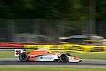 19 July 2008: Enrique Bernoldi (BRA) at the Honda Indy 200 IndyCar race at the Mid-Ohio Sports Car Course, Lexington, Ohio, USA.