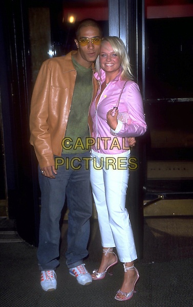 EMMA BUNTON (SPICE GIRLS) & JADE JONES  (DAMAGE).celebrity couple.Ref: 9971.www.capitalpictures.com.sales@capitalpictures.com.© Capital Pictures. .