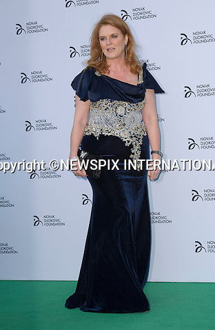 SARAH FERGUSON<br /> attends the Novak Djokovic Foundation Gala at the Roundhouse Theatre, London<br /> Mandatory Credit Photo: &copy;Dias/NEWSPIX INTERNATIONAL<br /> <br /> **ALL FEES PAYABLE TO: &quot;NEWSPIX INTERNATIONAL&quot;**<br /> <br /> IMMEDIATE CONFIRMATION OF USAGE REQUIRED:<br /> Newspix International, 31 Chinnery Hill, Bishop's Stortford, ENGLAND CM23 3PS<br /> Tel:+441279 324672  ; Fax: +441279656877<br /> Mobile:  07775681153<br /> e-mail: info@newspixinternational.co.uk