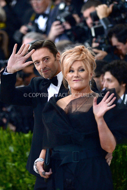 www.acepixs.com<br /> <br /> May 1 2017, New York City<br /> <br /> Hugh Jackman and Deborra-Lee Furness arriving at the 'Rei Kawakubo/Comme des Garcons: Art Of The In-Between' Costume Institute Gala at the Metropolitan Museum of Art on May 1, 2017 in New York City<br /> By Line: Kristin Callahan/ACE Pictures<br /> <br /> <br /> ACE Pictures Inc<br /> Tel: 6467670430<br /> Email: info@acepixs.com<br /> www.acepixs.com
