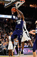 Wednesday, January 4, 2016: Georgetown Hoyas forward Marcus Derrickson (24) works under the basket during the NCAA basketball game between the Georgetown Hoyas and the Providence Friars held at the Dunkin Donuts Center, in Providence, Rhode Island. Providence defeats Georgetown 76-70 in regulation time. Eric Canha/CSM