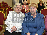 Pat Stack and May Coyle at the official opening of the new Associated Bridge Clubs of Drogheda (ABCD) headquaters on the Fair Green. Photo:Colin Bell/pressphotos.ie