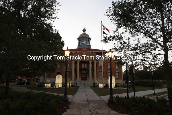 Historic 1912 Courthouse of Citrus County, Florida located in Inverness, Florida