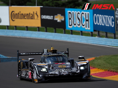 IMSA WeatherTech SportsCar Championship<br /> Sahlen's Six Hours of the Glen<br /> Watkins Glen International, Watkins Glen, NY USA<br /> Friday 30 June 2017<br /> 5, Cadillac DPi, P, Joao Barbosa, Christian Fittipaldi, Filipe Albuquerque<br /> World Copyright: Michael L. Levitt/LAT Images