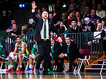 S&ouml;dert&auml;lje 2014-10-11 Basket Basketligan S&ouml;dert&auml;lje Kings - Ume&aring; BSKT :  <br /> S&ouml;dert&auml;lje Kings tr&auml;nare headcoach coach Vedran Bosnic reagerar<br /> (Foto: Kenta J&ouml;nsson) Nyckelord:  S&ouml;dert&auml;lje Kings SBBK Basket Basketligan T&auml;ljehallen Ume&aring; BSKT portr&auml;tt portrait