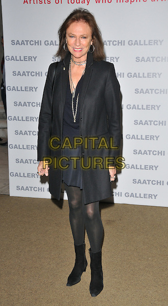 Jacqueline Bisset at the Painters' Painters exhibition private view &amp; party, Saatchi Gallery, King's Road, London, England, UK, on Tuesday 29 November 2016. <br /> CAP/CAN<br /> &copy;CAN/Capital Pictures