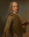 Portrait of Francois Marie Arouet de Voltaire (1694-1778), Anonymous