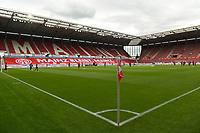 24th May 2020, Opel Arena, Mainz, Rhineland-Palatinate, Germany; Bundesliga football; Mainz 05 versus RB Leipzig;  A mostly empty stadium before kick-off