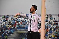 MONTERÍA - COLOMBIA ,30-01-2019: Camilo Vargas guardameta del Deportivo Cali durante el encuentro contra Jaguares de Córdoba durante partido por la fecha 2 de la Liga Águila I 2019 jugado en el estadio Municipal Jaraguay de Montería . / Camilo Vargas goalkeeper of Deportivo Cali in actions agaisnt of Jaguares of Cordoba during the match for the date 2 of the Liga Aguila I 2019 played at Municipal Jaraguay Satdium in Monteria City . Photo: VizzorImage / Andrés Felipe López  / Contribuidor.